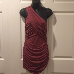 Hale Bob dress mauve color